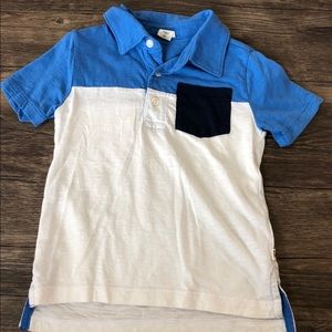 GAP block colored polo shirt